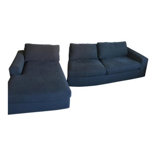 Harding Sectional Sofa Wth Chaise - a Pair