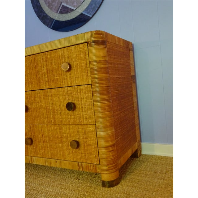 Vintage Bielecky Brothers Cane Double Chest For Sale - Image 5 of 6