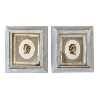 Neoclassic Gilt Profile Frames For Sale