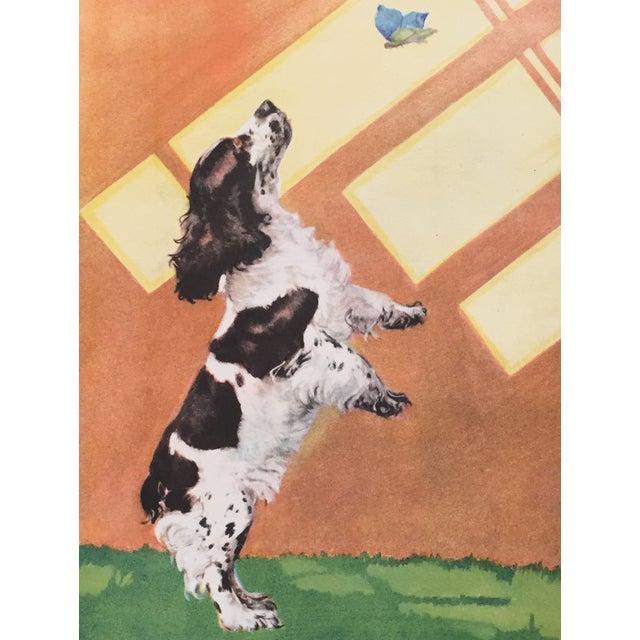 Vintage Cocker Spaniel Print by Diana Thorne - Image 2 of 2