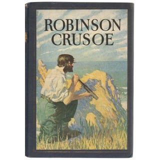 Robinson Crusoe Collectible Book For Sale