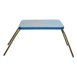 Blue Folding Table