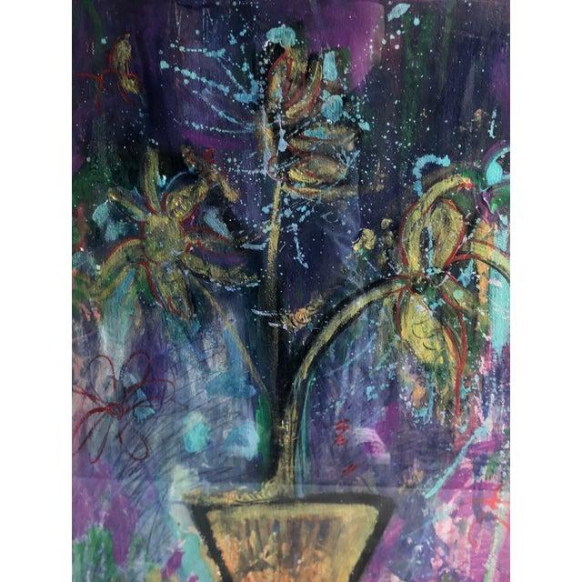 Elizabeth Martineau Modern Abstract Art Haitian Painting