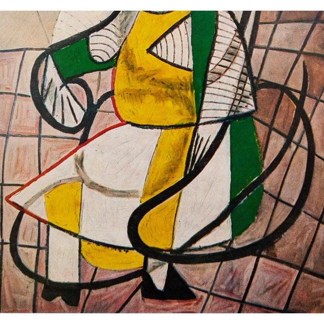 Pablo Picasso 1971 Parisian Picasso Femme Assise Dans Un Rocking Chair Photogravure For Sale - Image 4 of 8