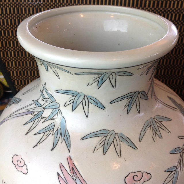 Hand Painted Chinese Porcelain Macau Vase Chairish