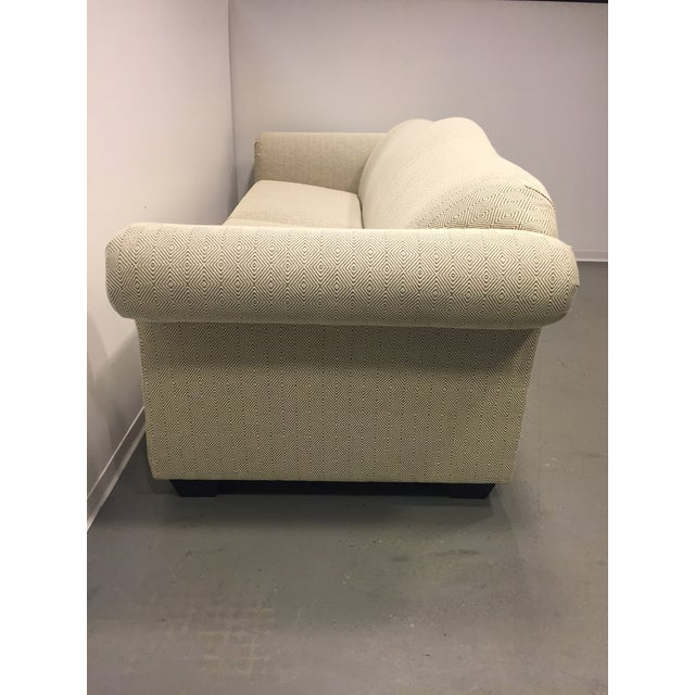 Contemporary Beige Upholstered Sofa - Image 4 of 7