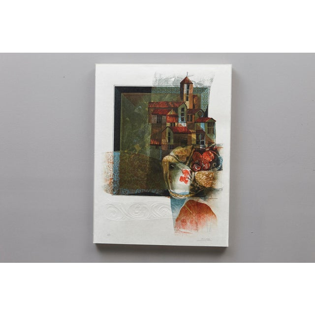 Modern Alvar Sunol Munoz-Ramos, Untitled, Signed and Numbered, # 63/80, 1981 For Sale - Image 3 of 11