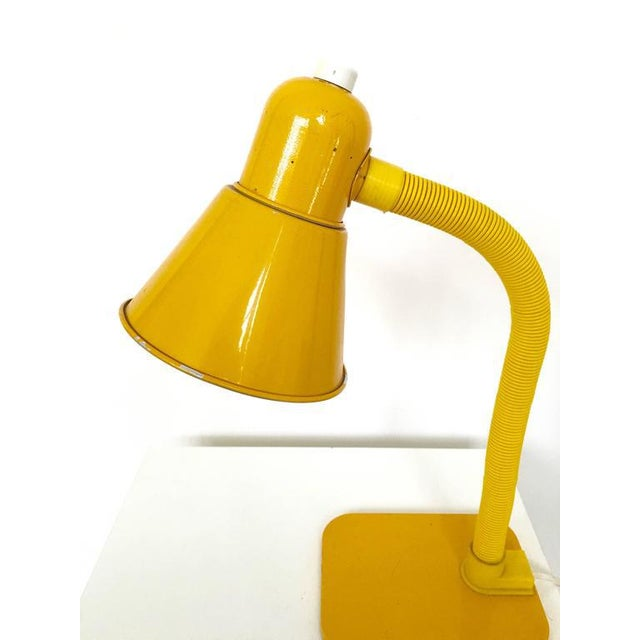 French Yellow Desk Lamp - Image 6 of 10
