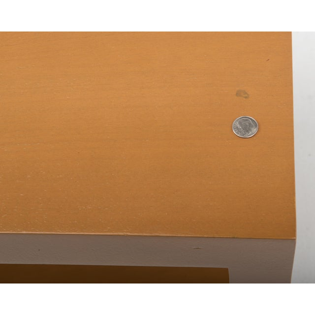 Brown T.H. Robsjohn Gibbings Widdicomb Parsons End Tables - a Pair 1949 For Sale - Image 8 of 13