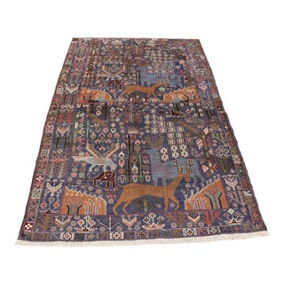 Hand Knotted Afghan Rug For Sale