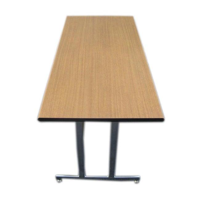 Contemporary Hon Modern Minimalist Metal Desk For Sale - Image 3 of 6