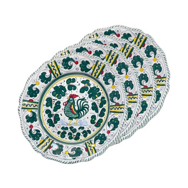 Orvieto Dinner Plate, Full Design - Set of 4 For Sale - Image 9 of 9