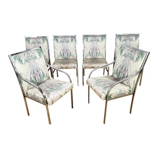 Chrome Dining Chairs by Pierre Cardin - Set of 6