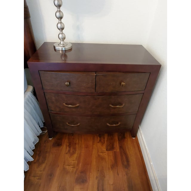 Modern Bernhardt Vintage Bachelor Chest With 4 Drawers For Sale - Image 3 of 9