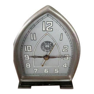 Vintage American Art Deco Clock For Sale