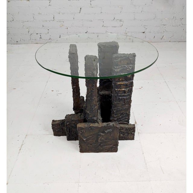 Adrian Pearsall Brutalist Small Coffee or Side Table For Sale - Image 4 of 10