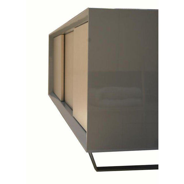 Customizable Yoon Sliding Door Console For Sale - Image 9 of 10