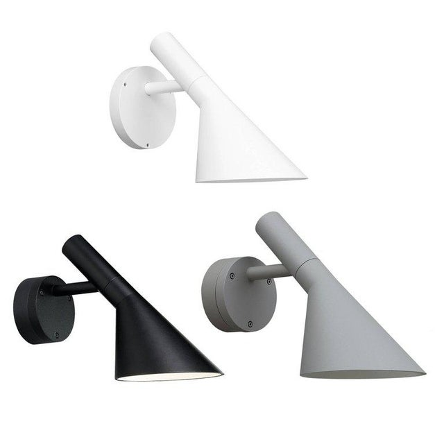 Louis Poulsen Arne Jacobsen for Louis Poulsen AJ 50 Outdoor Wall Light For Sale - Image 4 of 5