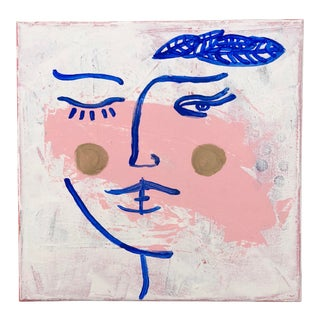 Abstract Portrait of a Woman, 2019 For Sale