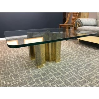 Brass and Glass Coffee Table Preview