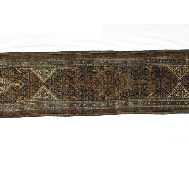 "Leon Banilivi Antique Bibikabad Rug - 3'2"" X 17'1"" For Sale In New York - Image 6 of 8"