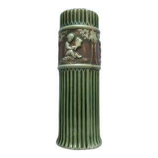 1910s Roseville Pottery Donatello Bud Vase For Sale