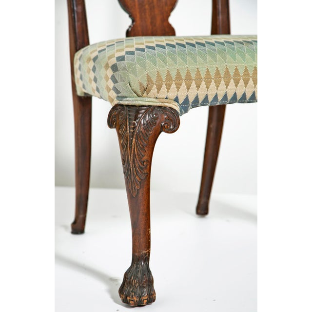 Mahogany Mid 19th Century Chippendale Style Side Chairs - Set of 4 For Sale - Image 7 of 7