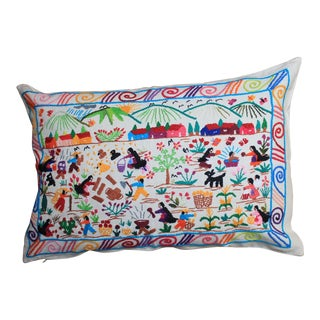 Tzin Tzun Tzan Vida De Campo Pillow Cover For Sale
