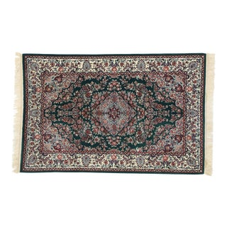Vintage Chinese Floral Rug With Persian Style - 04'00 X 06'02 For Sale