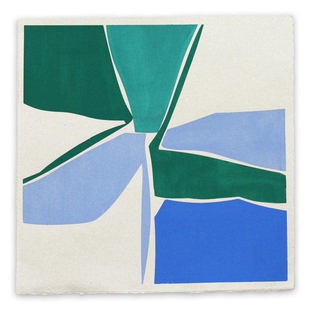 "Joanne Freeman Joanne Freeman ""Multi 18"" Painting For Sale - Image 4 of 4"
