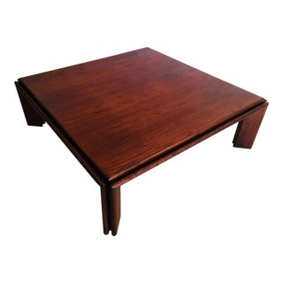 Afra and Tobia Scarpa Italian Coffee Table For Sale