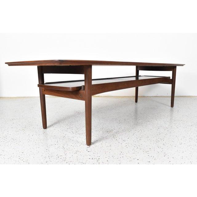 Bramin Møbler Teak Surfboard Coffee Table - Image 4 of 7