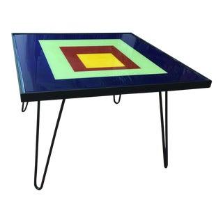 Original Handpainted Table