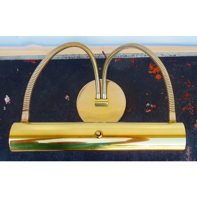 1950s Italian Modernist Brass Desk Lamp - Image 6 of 11