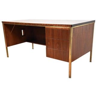 Walnut Executive Desk For Sale