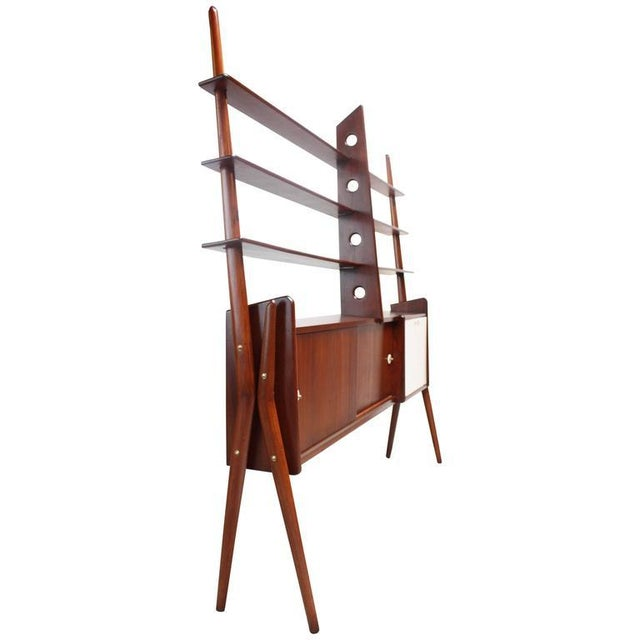 Mid-Century, Italian Modern Freestanding Wall Unit - Image 3 of 10