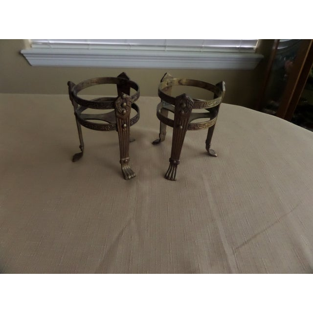Vintage Solid Brass Candle Holders - A Pair - Image 2 of 8