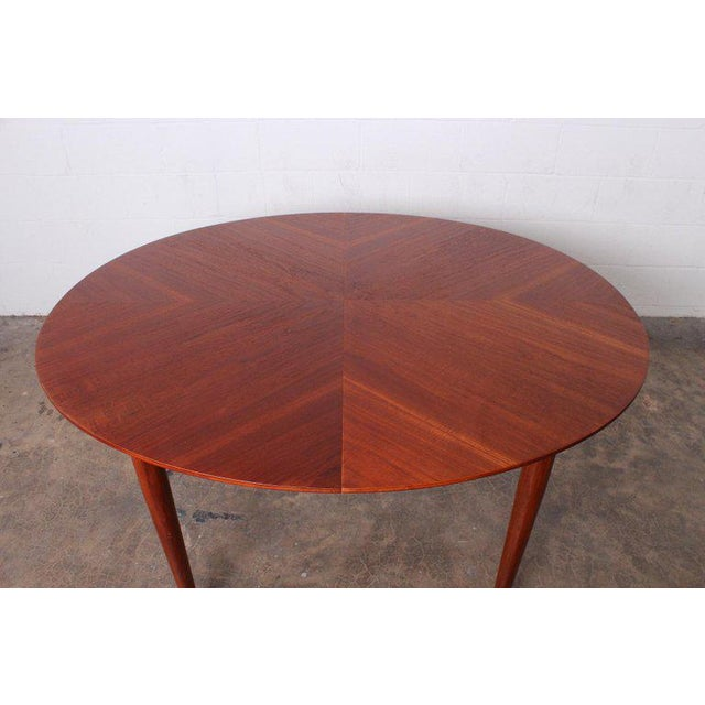 Mid-Century Modern Dining Table by Finn Juhl for Baker For Sale - Image 3 of 13