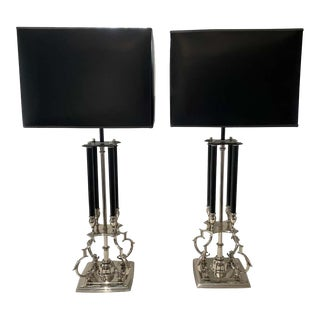 Mid-Century Modern Tommi Parzinger for Stiffel Table Lamps - a Pair For Sale
