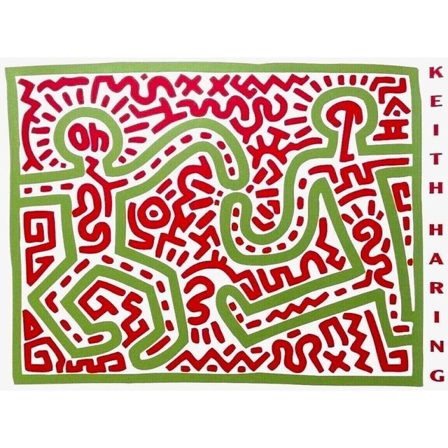 Pop Art (after) Keith Haring Untitled, 1983 (Two Figures), Exhibition Poster 1983 For Sale - Image 3 of 3