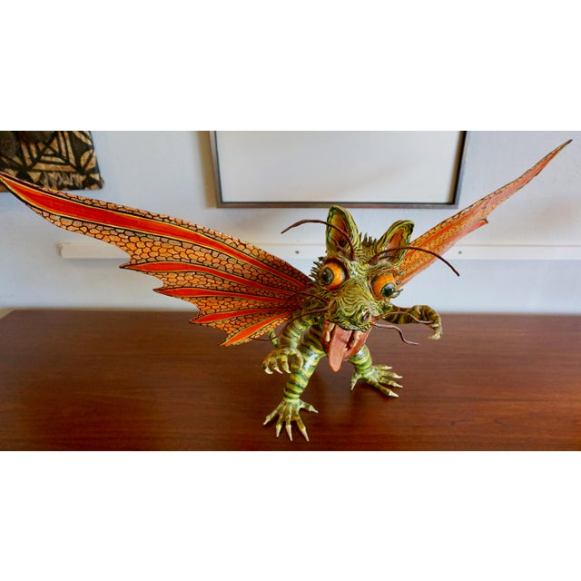 "Fantastical Creature ""Alebrijes"" by Felipe Linares For Sale - Image 9 of 9"