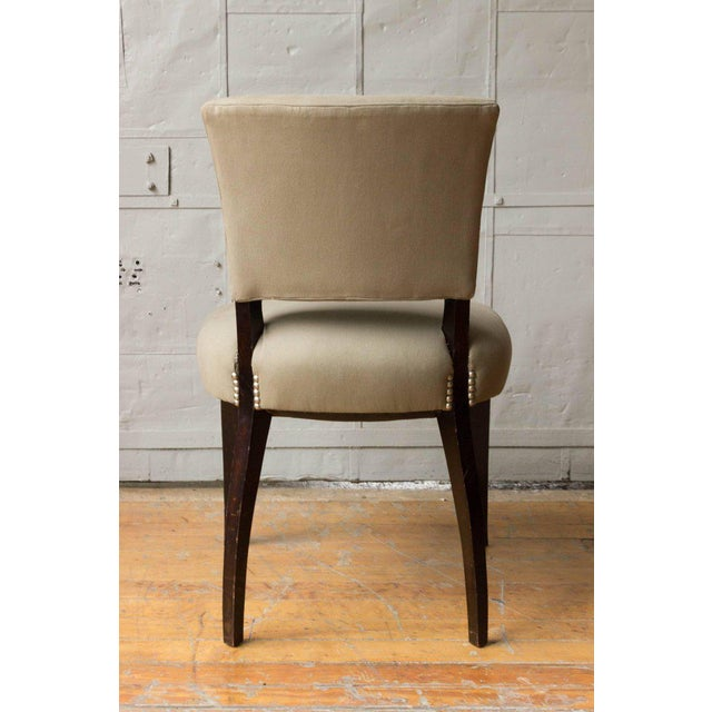 Art Deco Style Side Chair Frame - Image 8 of 11
