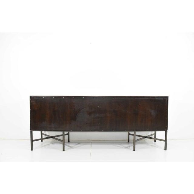 Brown Roger Sprunger for Dunbar Burled Olivewood Sideboard or Credenza For Sale - Image 8 of 13