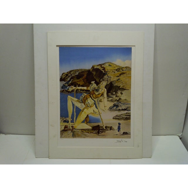 """Limited Edition Numbered (275/300) Matted Salvador Dali Print """"Spectrum of Sex Appeal"""" - Image 2 of 8"""