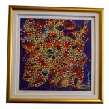 Image of Colorful Abstract K. Clark Painting For Sale