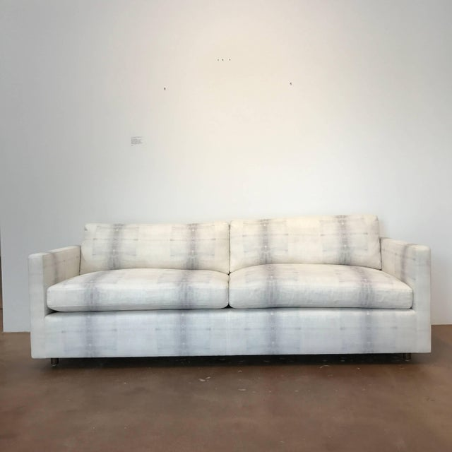 Late 20th Century Tuxedo Sofa by Martin Brattrud For Sale - Image 5 of 7