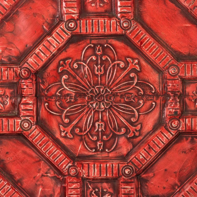 Art Deco Tin Ceiling Panel For Sale - Image 3 of 13