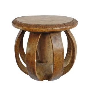 Guinea Baga Wood Stool For Sale