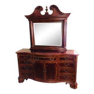 Lexington Furniture Cherrywood 12 Drawer Dresser For Sale