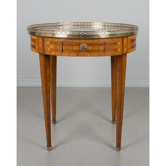 French 1960s French Louis XVI Style Side Table For Sale - Image 3 of 10